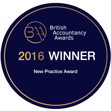British Accountancy Awards Winner - New Practice Award 2016