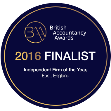 British Accountancy Awards - Finalist Independent Firm of the year 2016