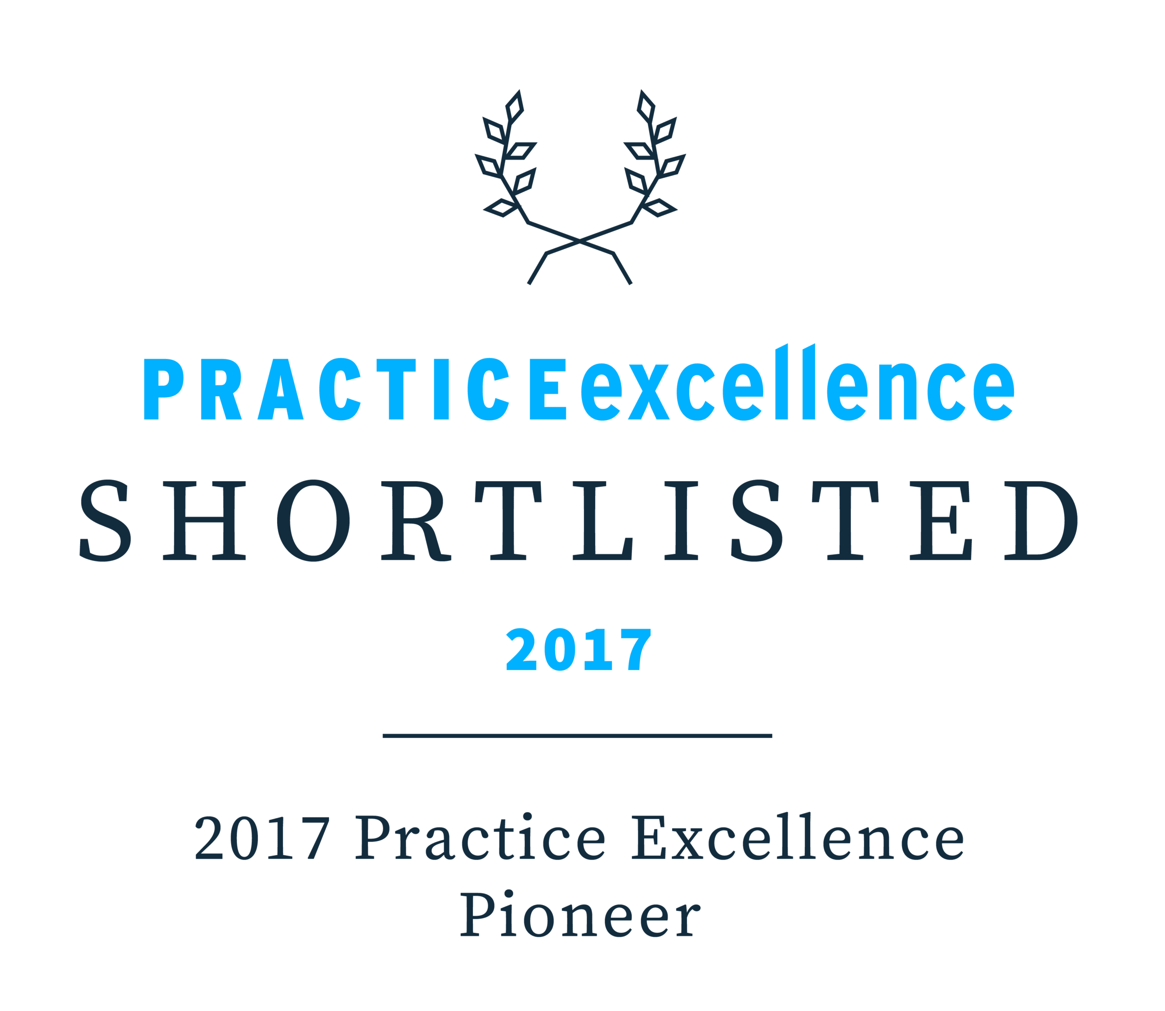 Practice Excellence Awards - Shortlisted 2017
