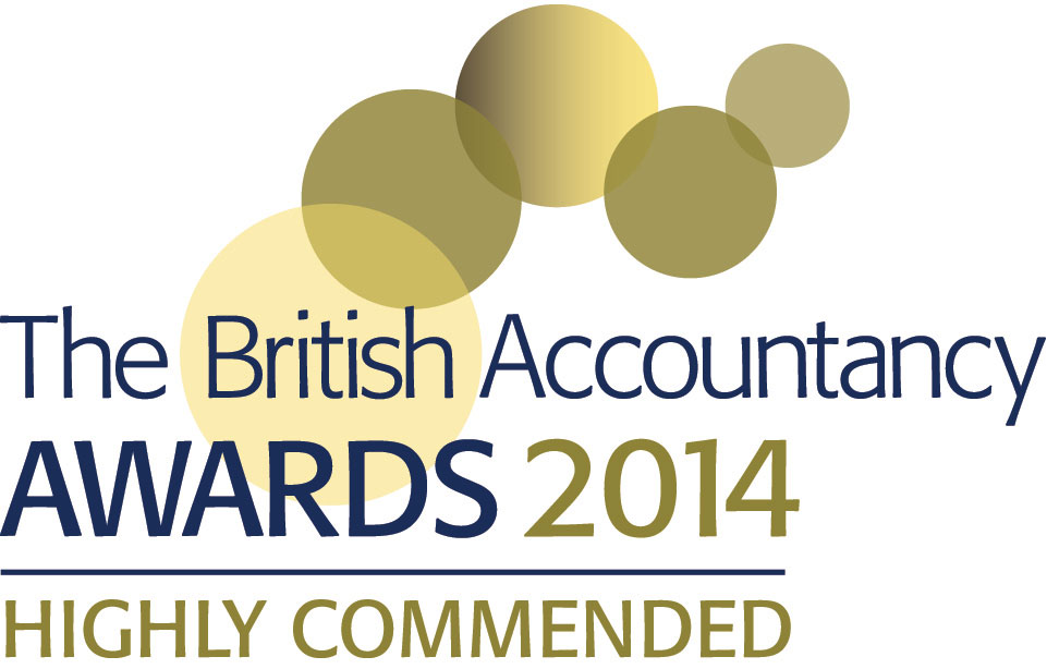 British accountancy awards 2014 highly commended