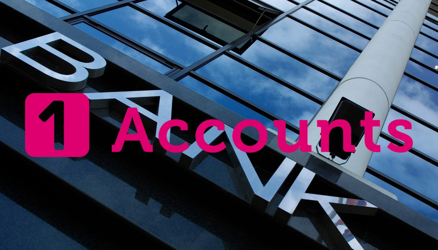 1 Accounts – You are not a bank