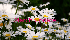Daisys for a march update