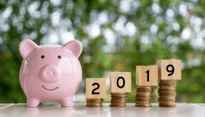 2019 piggy bank