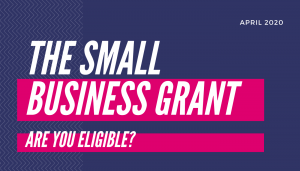 The small business grant - are you eligible