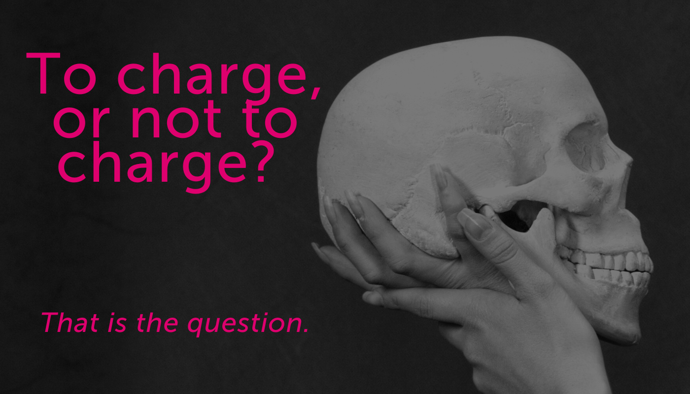 skull - To charge or not to charge blog