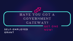 Have you got a government gateway neon sign