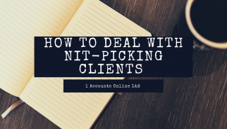How to deal with nit-picking clients