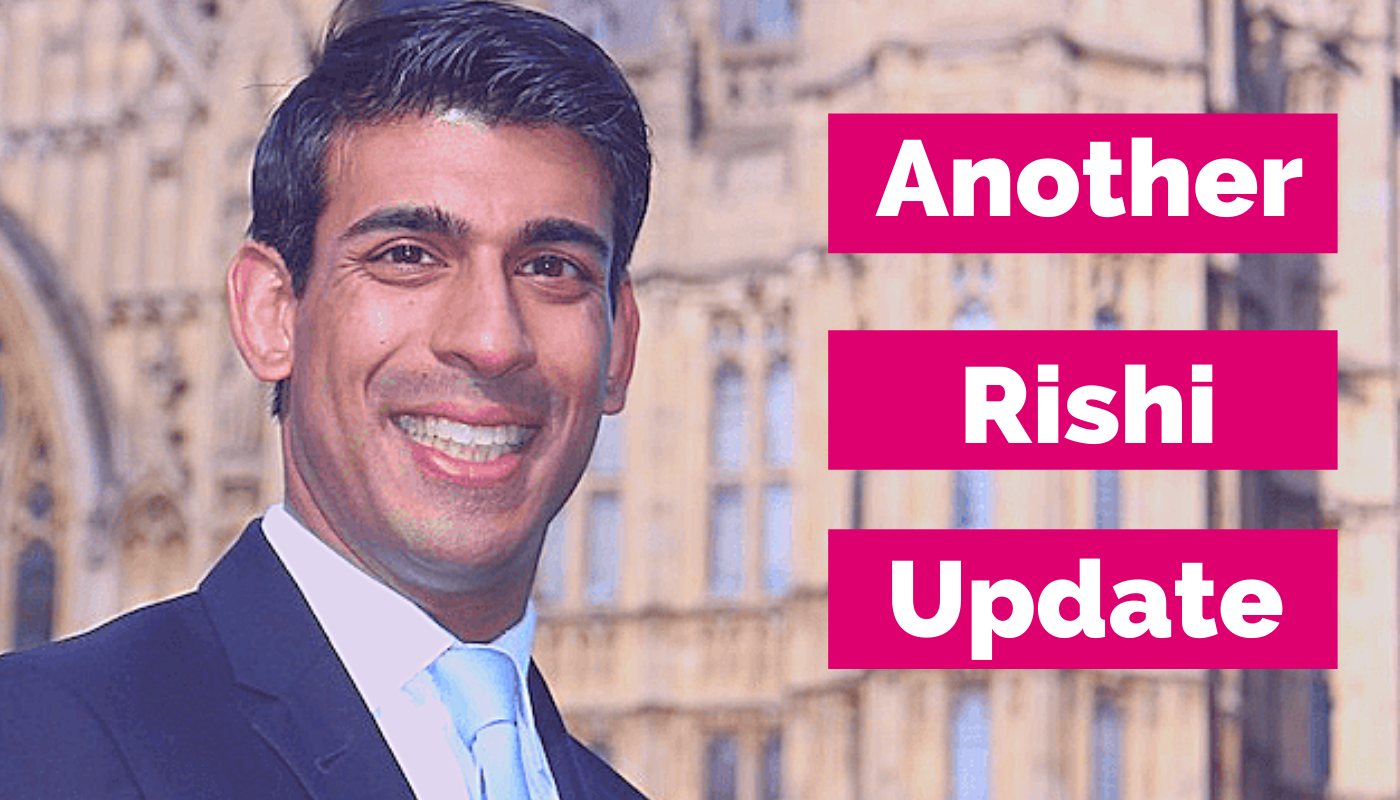 What does the update from Rishi mean for my business?