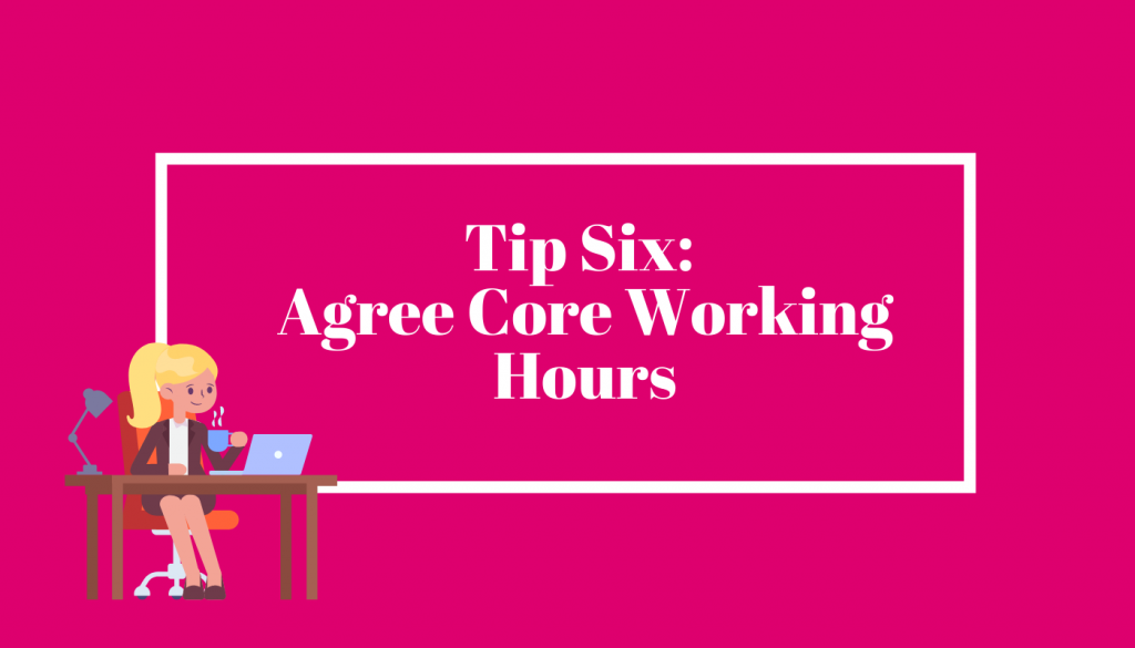 agree core working hours