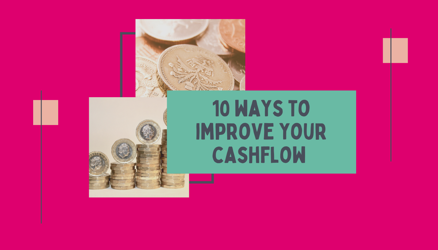 10 ways to improve your business cash flow