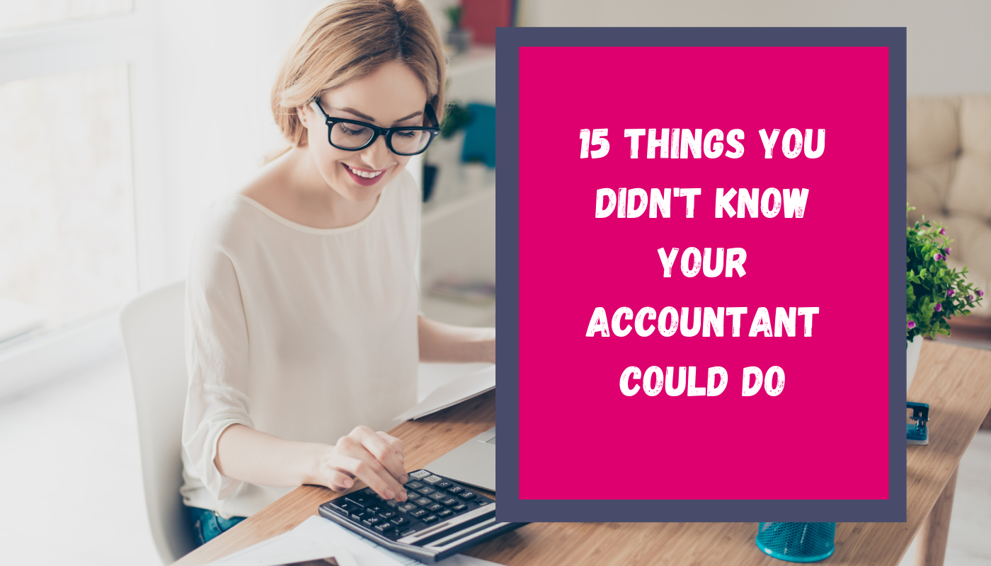 15 things you didn't know an accountant could do