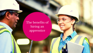 the benefits of hiring an apprentice