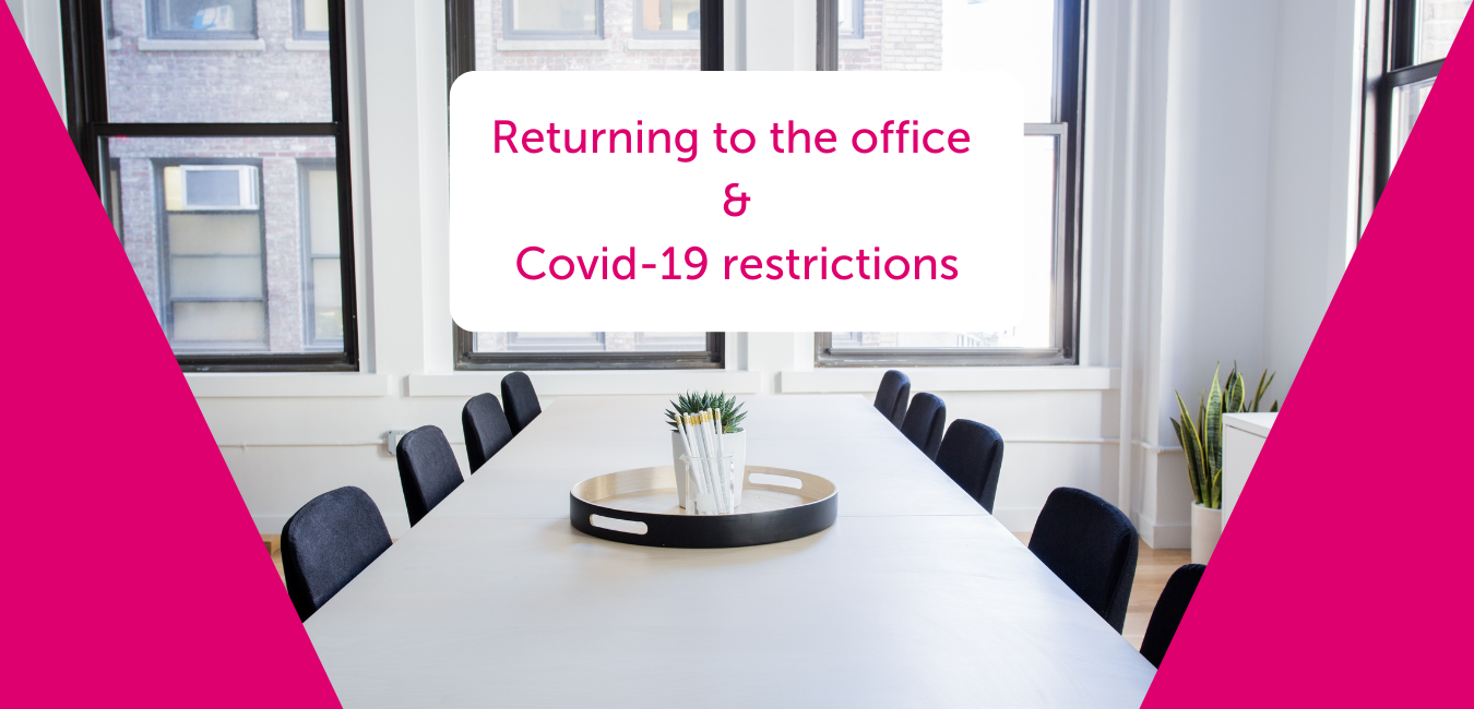 Our Covid-19 Policy for returning to the office