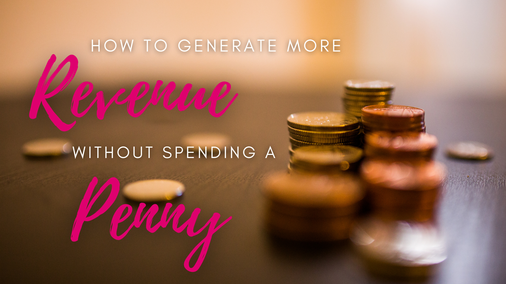How do I make more money without spending a penny!
